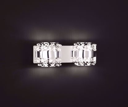Picture of KRIS 2 Element Chrome LED Wall Sconce