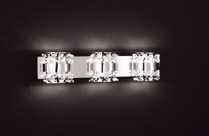Picture of KRIS 3 Element Chrome LED Wall Sconce