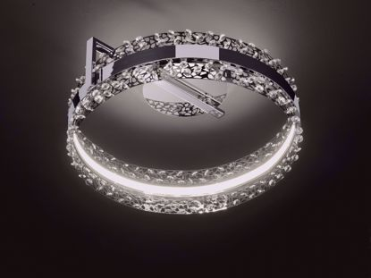 Picture of KRIS Chrome LED Ceiling Light