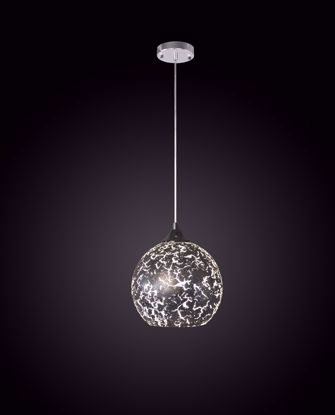 Picture of KOZMOS Silver Foiled Glass Pendant Light
